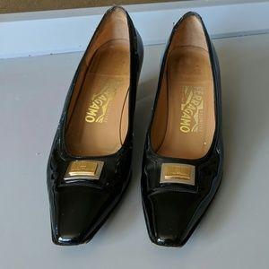 SALVATORE FERRAGAMO Patent Leather SHOES